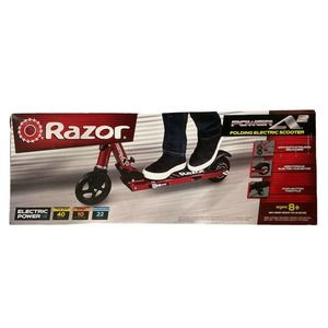 Razor Power A2 Electric Scooter - Red - New In Box